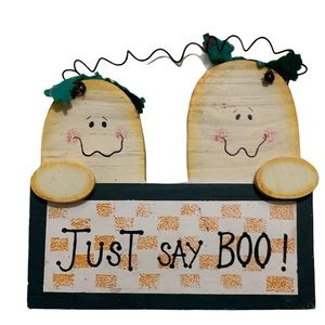 BOGO Free Wooden hand painted Halloween ghost